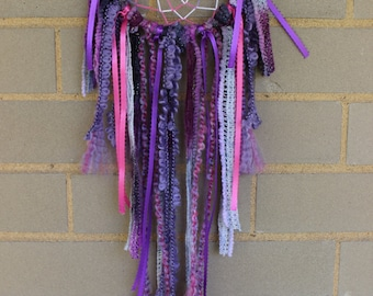 Handmade Dreamcatcher - Pink and Purple - Urban Outfitters, Free People