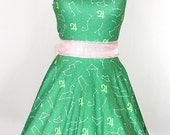 SAILOR JUPITER Zodiac Green Dress - Made to Order