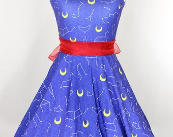 SAILOR MOON Zodiac Constellation Dress - Made to Order