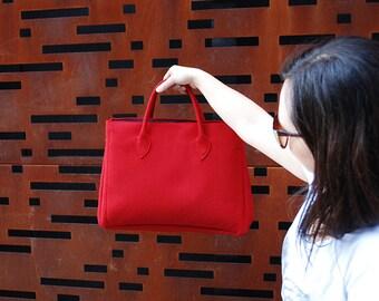 Elegant Women Hand Bag - Big Shoulder Bag - Handmade - Red Colors - New Design - Elegant Large Bag - Office Bag - Women Bag - Fashion