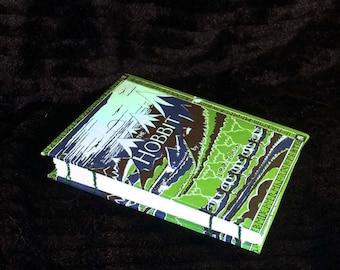 Hobbit Dust Jacket Book Cover Notebook Sketchbook Jornal Diary