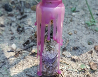 Divination Spell Bottle ~ For Divinatory Workings, Psychic Powers, Spell Workings