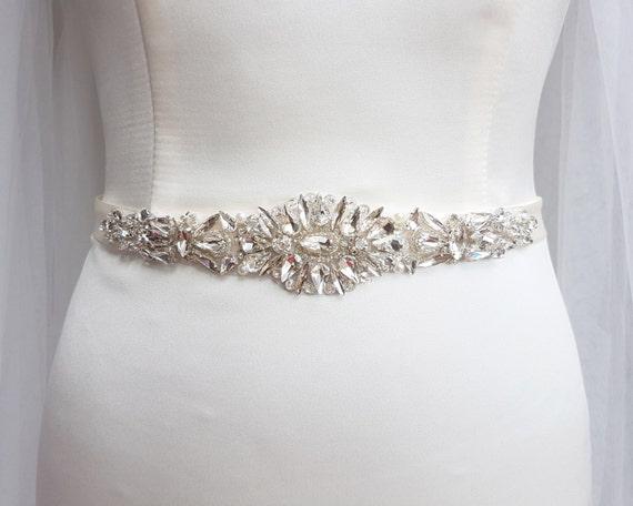 Bridal Belt Wedding Belt Bridal Sash By MagnificenceBridal On Etsy