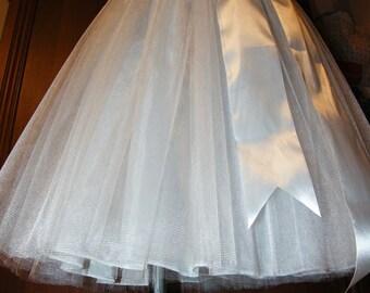 Wedding White tutu skirt
