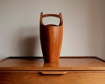 Dansk Teak Wood Ice Bucket