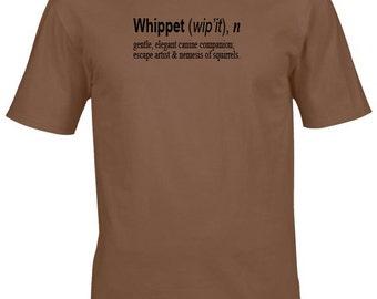 Whippet t shirt- dog tshirt, whippet gifts, dog clothing, dog shirt, gifts for men, gifts for women, mens tshirt, womens t shirt, uk shops
