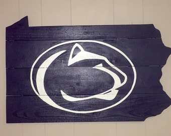 Penn State Inspired wall sign