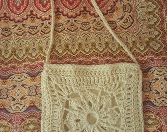 Jessica - Small Boho Crochet Bag