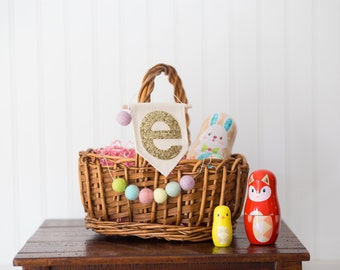 Customized Easter Basket Adornments - Adornments ONLY; NO Basket