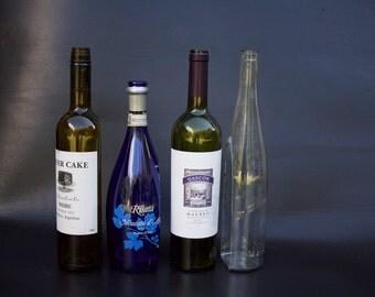 Pre Cut Wine Bottle