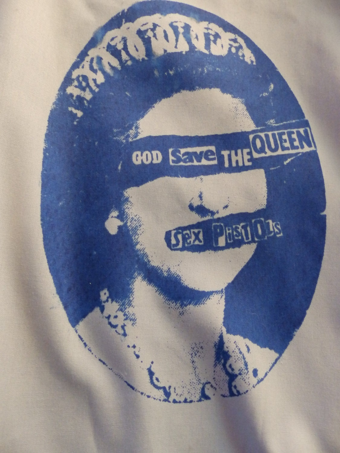 the sex pistols god save the queen single fitted in Riverside