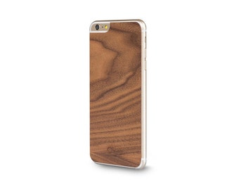 Sticker wood iPhone - Walnut