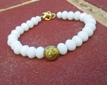 Swarovski Crystal Om Bracelet