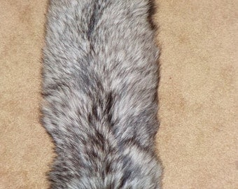 Ranched SILVER Fox Pelt