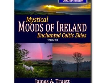 FREE U.S. SHIPPING! Vol. II, Enchanted Celtic Skies - 2nd Edition (Mystical Moods of Ireland), Ireland Book, Irish Gifts, Ireland Photos