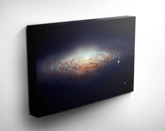 Astronomy Print Outer Space Hubble Telescope UFO Galaxy Canvas Art, Stars and Planets Art, Gift Idea