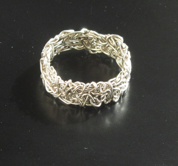silver wire ring simple rings silver jewellery by juli711