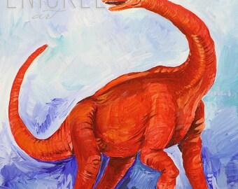 Brontosaurus Stops By