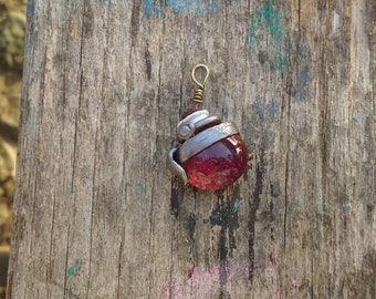 League of legends inspired health potion necklace