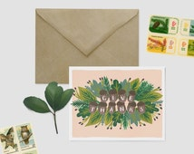 Give Thanks Card - Thanksgiving Card