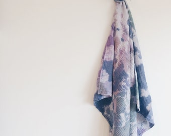 Hip Baby Hand Dyed Swaddle Blanket
