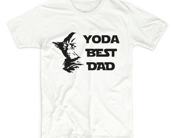 Father's Day Yoda Best Dad T-Shirt - Father's Day Gift - Gift for Him, Husband, Dad, Father - Fathers Day Tee Shirt, Tshirt Gift, Papa Tee
