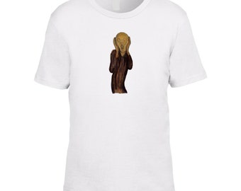 The Scream Tee (Edvard Munch)