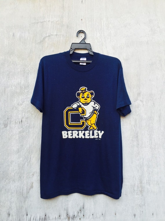 sale vintage college t shirt california berkeley by