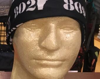 802 Brandanna - Vermont bandanna / headband / MULTI USE