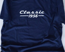 Classic 1956 T-Shirt. 60th Birthday Gift For Men. 60th Birthday party. 60th Birthday Gift for Man.