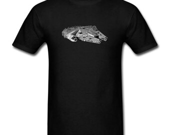 Men's T-shirt Millennium Falcon Star Wars