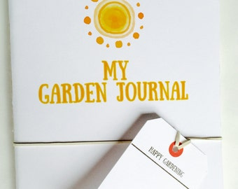 Pocket Garden Journal:  Sunny daze