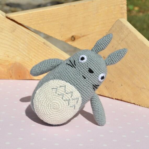 Neighbor Totoro Crochet Totoro Amigurumi My by KristinaSHaSHop