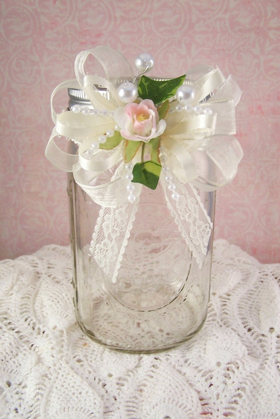 ball mason jar decorated ball mason jars by galasgiftsjewelry