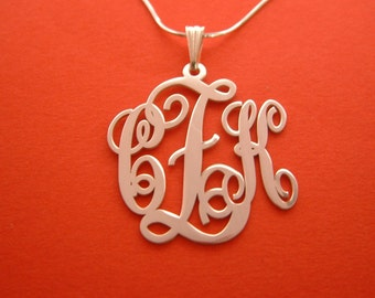 Michelle Money Monogram Necklace Monogram Pendant Valentines Day Monagram Necklace Mongram Necklace Plate Baby Shower Monogrammed Necklace