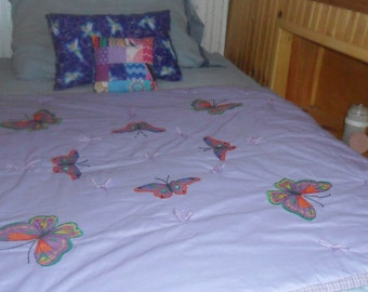 Butterfly Fly Away Baby Blanket