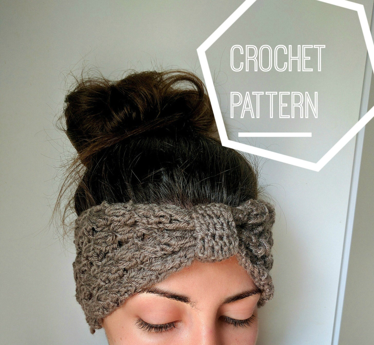 Crochet ear warmer pattern crochet knot headband pattern zoom bankloansurffo Choice Image