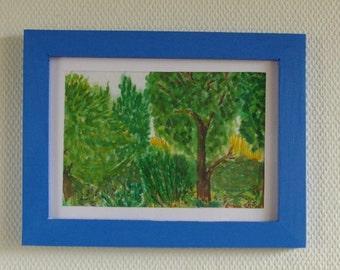 Landscape version 2 - Watercolor Painting