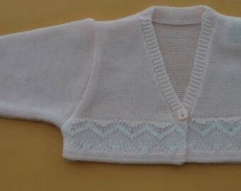 Pink Bolero Cardigan Made in Spain