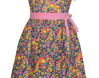 Liberty of London Girls dress by Marco & Lizzy size 4t