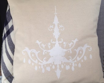 Chandelier Pillow Cover