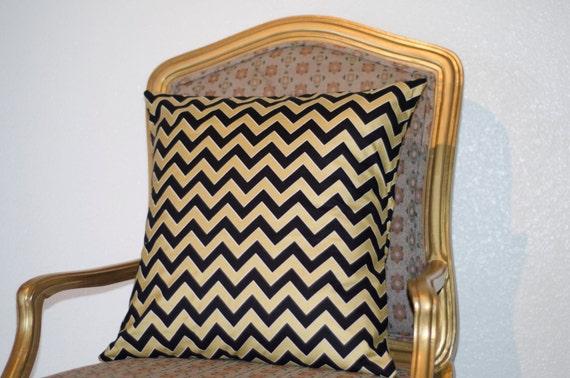 elegant black and gold pillow cover. Black Bedroom Furniture Sets. Home Design Ideas