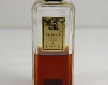 Vintage Lanvin Arpege Eau De Parfum // French Parfum 2 oz Bottle