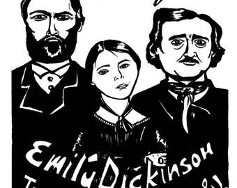 edgar allan poe and emily dickinson Poemhuntercom - emily dickinson - poems  a complete and mostly  by edgar allan poe web-bookscom mon, 09 jul 2018 18:45:00 gmt by edgar allan poe .