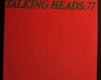 Talking Heads 77 LP! Authentic Vintage Vinyl! Talking Heads ~ 77 Sire SR 6036 Near Mint-Vinyl / VG+-Sleeve