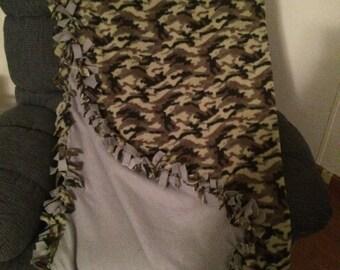 Reversible Fleece Blankets