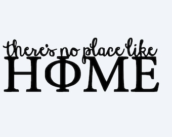 There's No Place Like Home - Phi Mu Digital Download
