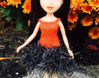 OOAK made under Halloween doll