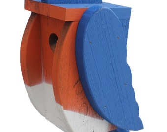 Amish Made Bird House - Bluebird House-Free Shipping