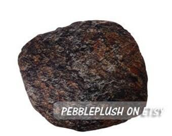 """Accent Rock Pillow 10""""x10"""" Rock Pillow Pebble Pillow Floor Cushion Stone Pillow Decor Room Decor Zen Pillow Nature Living Pillow-ID:PPS004S"""